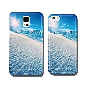 The italian alps in winter cell phone cover case iPhone6
