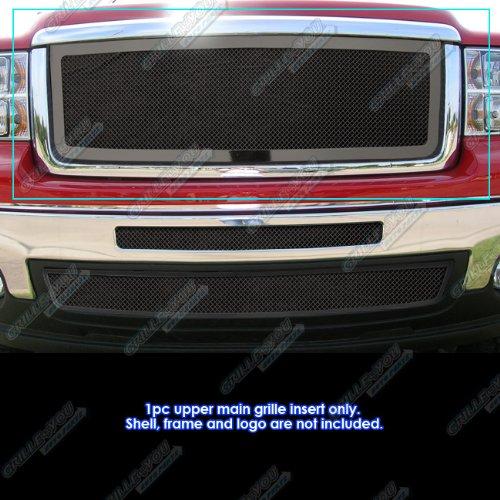 - APS for 2007-2013 GMC Sierra/Denali 1500 New Body Black Mesh Grille Grill Insert #N19-H57467G