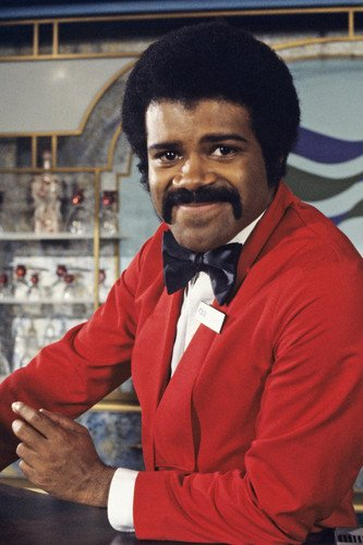 Ted Lange in The Love Boat posing behind bar as Isaac 24x36 Poster -