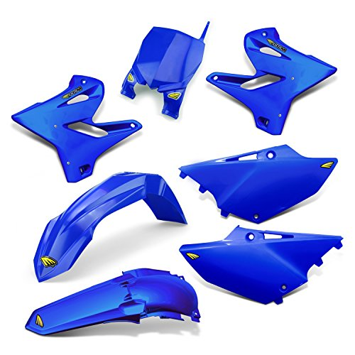 Plastic Cycra Kit (15-19 YAMAHA YZ250: Cycra Powerflow Plastic Kit (Blue))