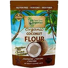 Organic Coconut Flour, Non-GMO and Gluten-Free, 1 Pound