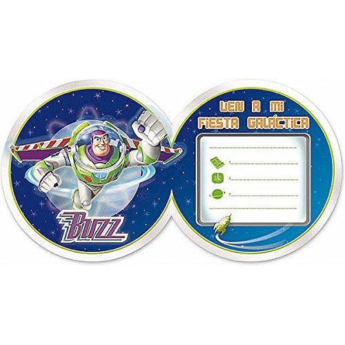 Invitaciones Cumpleaños Buzz Lightyear Cumpfies Amazones