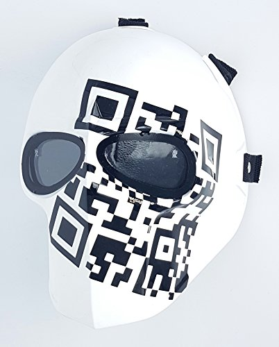 Airsoft Full Face Mask Army of two Cosplay Halloween mask Paintball METRIC Ghost Masks ()