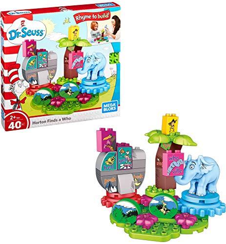 Mega Bloks Dr. Seuss Horton Finds a Who Building Set (40 Piece)