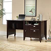 Sauder Shoal Creek 61 Computer Desk in Jamocha Wood