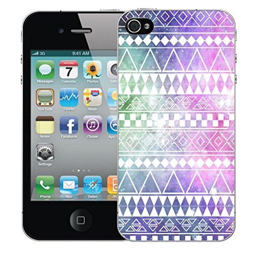 Mobile Case Mate iPhone 4 Silicone Coque couverture case cover Pare-chocs + STYLET - Hippie pattern (SILICON)
