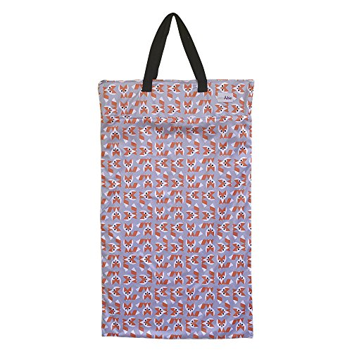 - Large Hanging Wet Dry Bag for Cloth Diapers or Laundry (Fox)