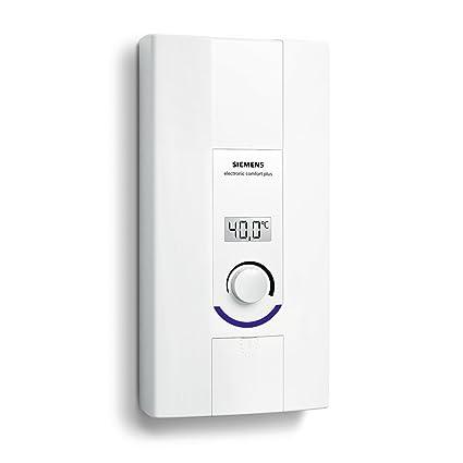 Siemens DE2124527 Vertical Sin depósito (instantánea) Blanco calentadory - Hervidor de agua (Vertical