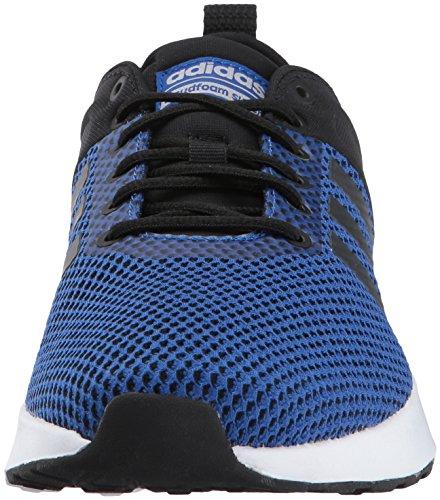 Scarpe Da Corsa Adidas Neo Mens Cf Super Racer Nere / Nere / Collegiate Reali
