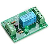 ELECTRONICS-SALON DPDT Signal Relay Module, 12Vdc, RY12W-K Relay. Has Assembled.