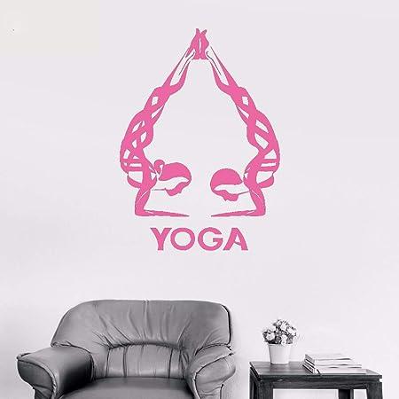 xingbuxin Tatuajes de Pared Yoga Studio Vinilo Pegatinas de ...