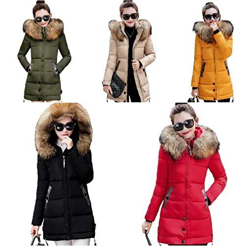 longues Transition Fit vestes plein à Slim femme matelassée femmes fourrure air produit mode plus élégante manches chaudes capuche en longue d'hiver avec Manteaux veste journée classique pour gq1wzRXX