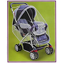 Universal Rain Wind Stroller Cover Shield Fits Most Stroller Jogger Pushchairs