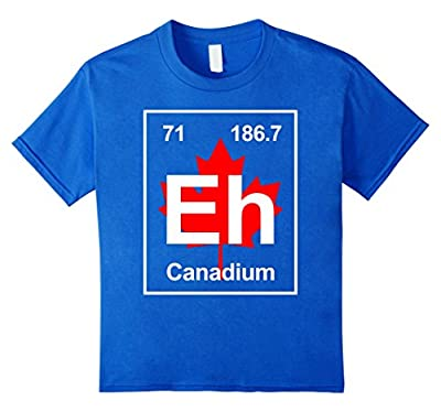Eh Canadium Funny T-shirt Best Gift For Team Canada