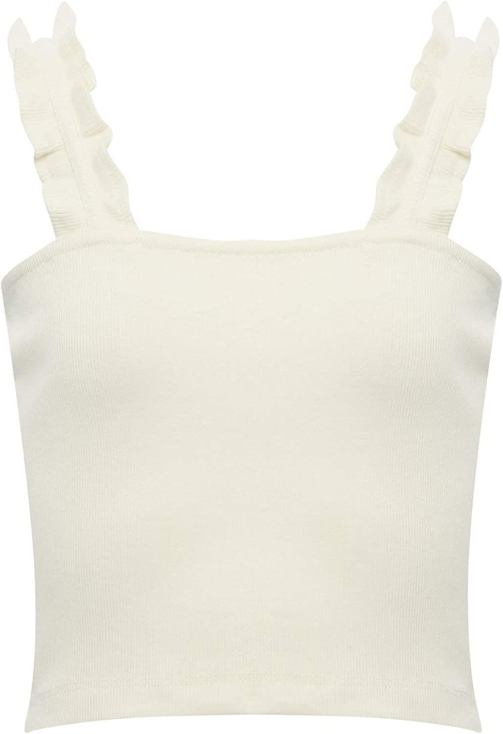 M/&Co Teen Girl Cropped Vest Top