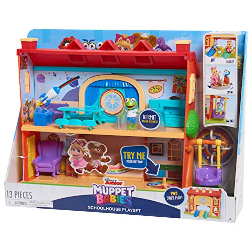 Muppets 14446 Babies School House Playset, Multicolor -