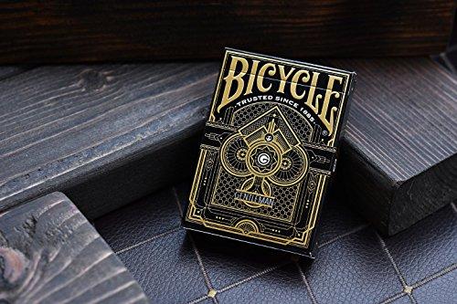 Bicycle Gentleman Playing Cards Poker Deck (Black)
