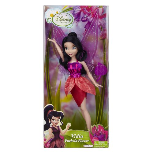 Disney Fairies Fashion Doll - Fuchsia Flower Vidia ()
