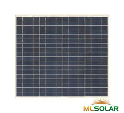 Best Cheap Deal for Infinium 50 W Solar Panel Made with a Grade Solar Cells by ML Solar - Free 2 Day Shipping Available