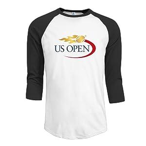 Raglan Male Animal T Shirt With US Open