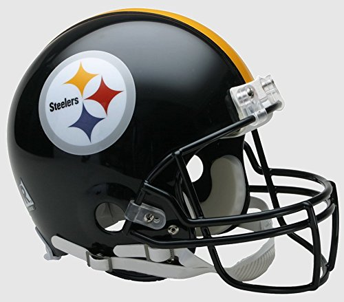 NFL Pittsburgh Steelers Full Size Proline VSR4 Football Helmet -