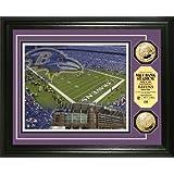 NFL Baltimore Ravens Stadium Gold Coin Photo Mint