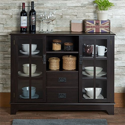 Acme Furniture 97328 Dubs Cabinet, One Size, Espresso