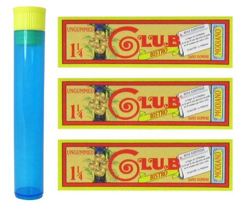 1 1/4 Ungummed - 3 Packs with RPD Doob Tube ()