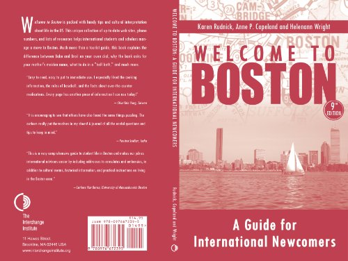 Welcome to Boston, A Guide for International Newcomers 9th Edition