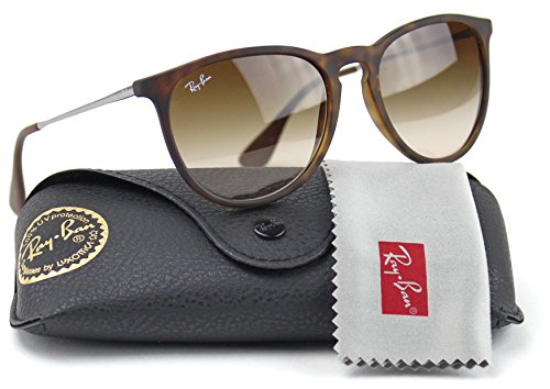 Ray-Ban RB4171 865/13 Erica Sunglasses Tortoise Frame / Brown Gradient - Ray Model Erika Ban