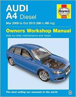 Audi A4 Diesel (Mar 08 - Oct 15) 08 To 65: Amazon.es: John S. Mead: Libros en idiomas extranjeros