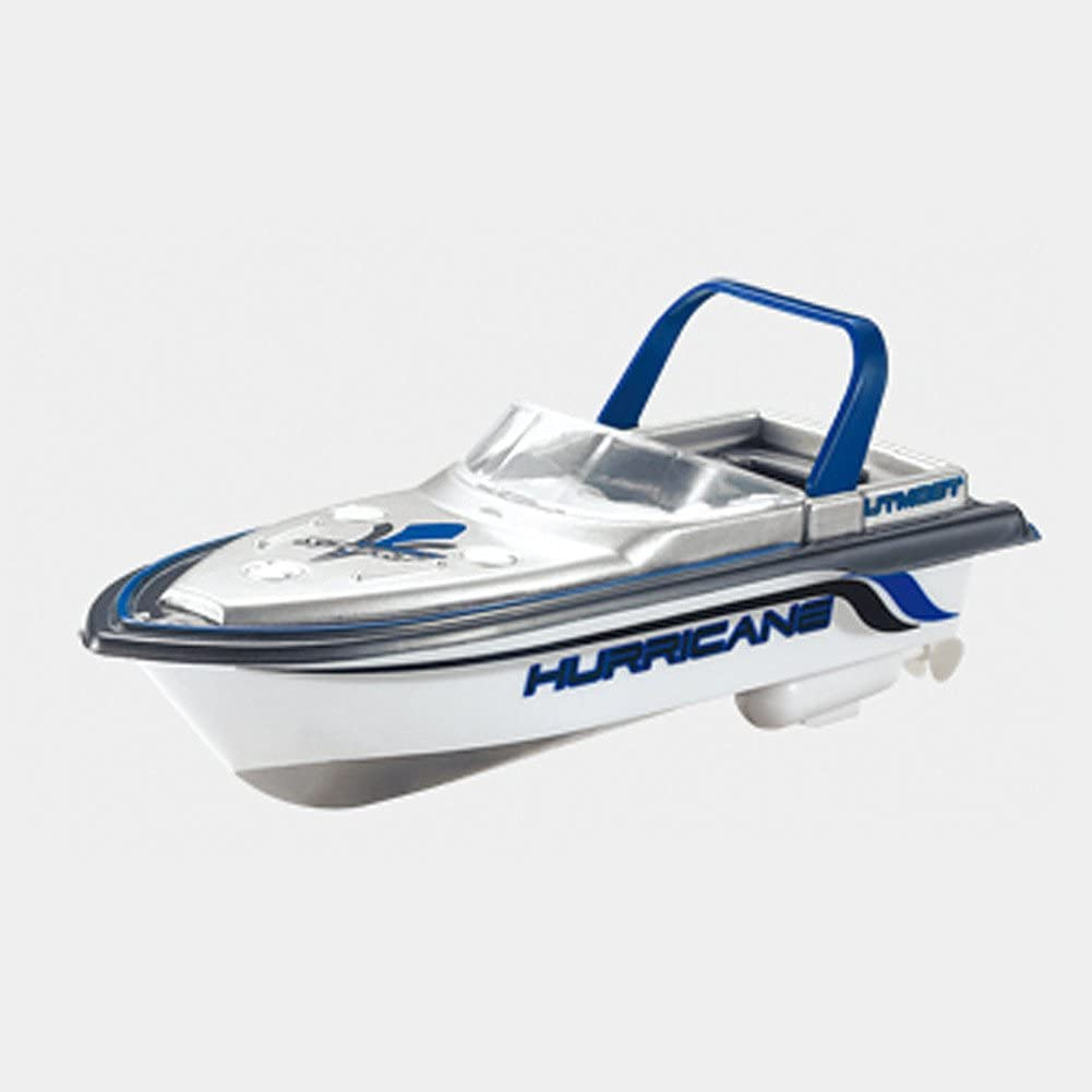 Swovo Mini Remote Control and Decorative Ship Model Boat Dual Motor High-Speed RC Boat Racing Boat Toy for Pools Lakes /& Outdoor Use
