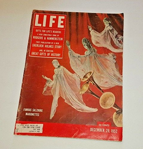 Life Magazine December 29, 1952 -- Cover: Salzburg for sale  Delivered anywhere in USA