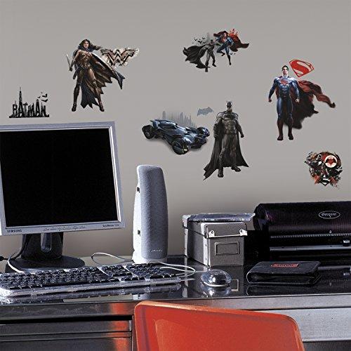 RoomMates RMK3188SCS Batman V Superman Wall Decals -