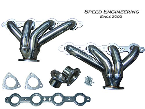 LS Universal Hugger Headers Swap Conversion (LS1, LS2, LS3, LS6) Ram Horns