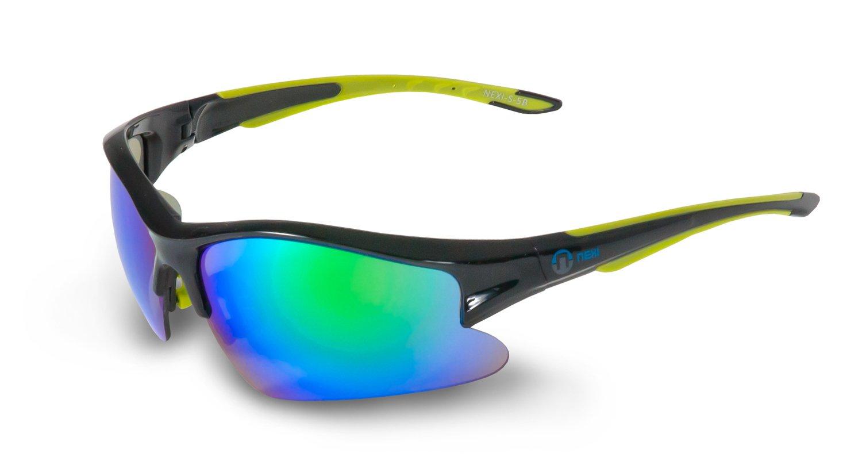 Nexi Sportbrille Sonnenbrille verspiegelt S-11A, blau