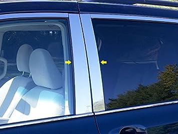 QAA FITS SIENNA 2011-2019 TOYOTA WP11150 16 Pc: Stainless Steel Window Trim Package w//pillar trim /& window sill trim, 4-door