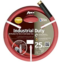 Apex, 8695-25, Commercial All Rubber Hot and Cold Water Hose,  5/8-Inch by 25-Feet