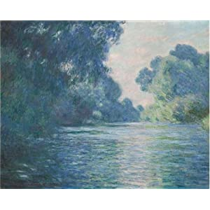 Oil Painting 'Arm Of The Seine Near Giverny At Sunrise 1897 By Claude Monet', 10 x 12 inch / 25 x 32 cm , on High Definition HD canvas prints is for Gifts And Bar, Game Room And Living Room Decoration