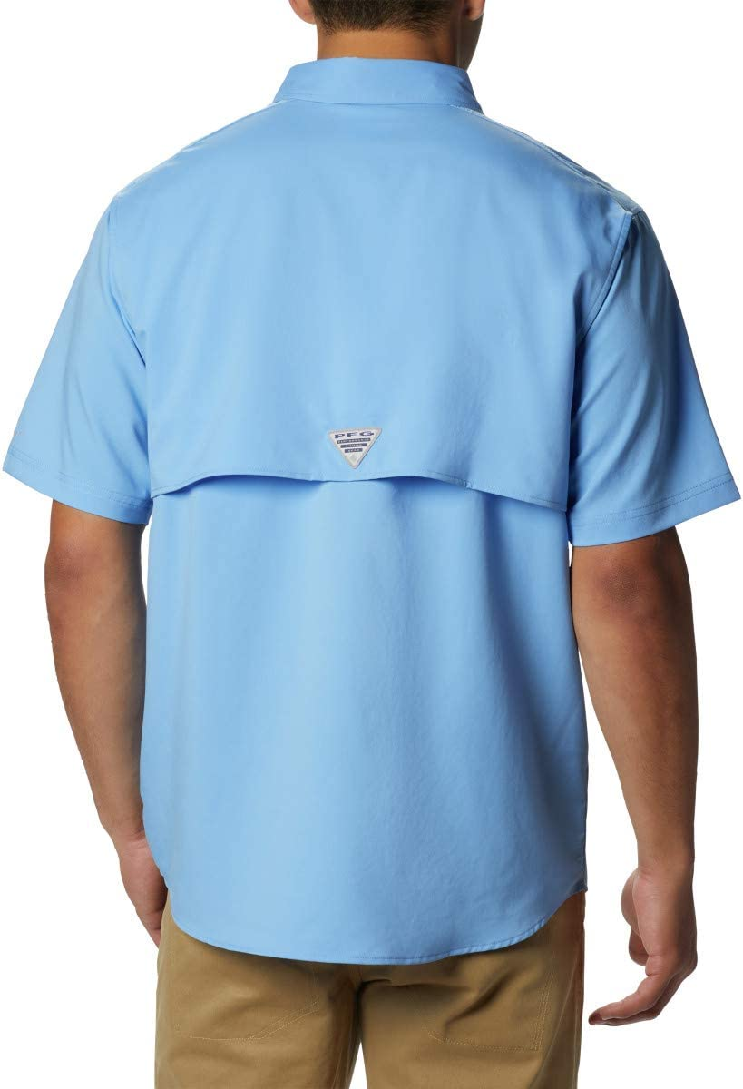 Columbia Men's Blood and Guts III Short Sleeve Woven White Cap