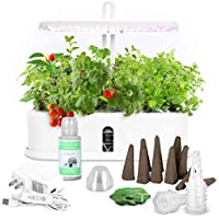 Dr Goodrow Hydroponics Growing System - 10 Pods Grow Tent Kit with LED Grow Light | Indoor Gardening Kit for Smart Home…