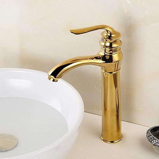 Actualización lavabo mezclador grifo cloakroom sólido acero ...
