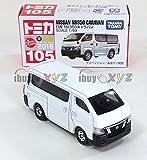 TAKARA TOMY Tomica 105 Nissan NV350 Caravan white 4904810858386 *FREE SHIPPING /item# R6SG5EB-48Q22725