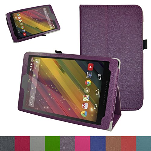 HP 10 G2 2301 Case,Mama Mouth PU Leather Folio 2-folding Stand Cover for 10.1