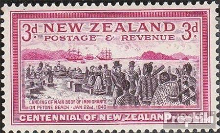 Prophila Collection Nueva Zelanda 258 1940 Centenario (Sellos para los coleccionistas): Amazon.es: Juguetes y juegos