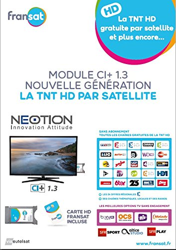 Neotion CAM Fransat Ci Plus Option SFR Sat/Option Bein ...