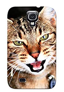 lintao diy [bgwnxe-1068-nvxgwaz]premium Phone Case For Galaxy S4/ Animal Cat Tpu Case Cover(best Gift Choice)