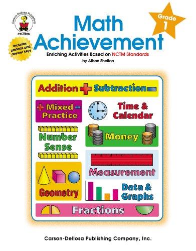 Math Achievement, Grade 1: Enriching Activities Based on NCTM Standards pdf epub