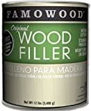 Famowood 36001142 Original Wood Filler, Walnut, One gallon