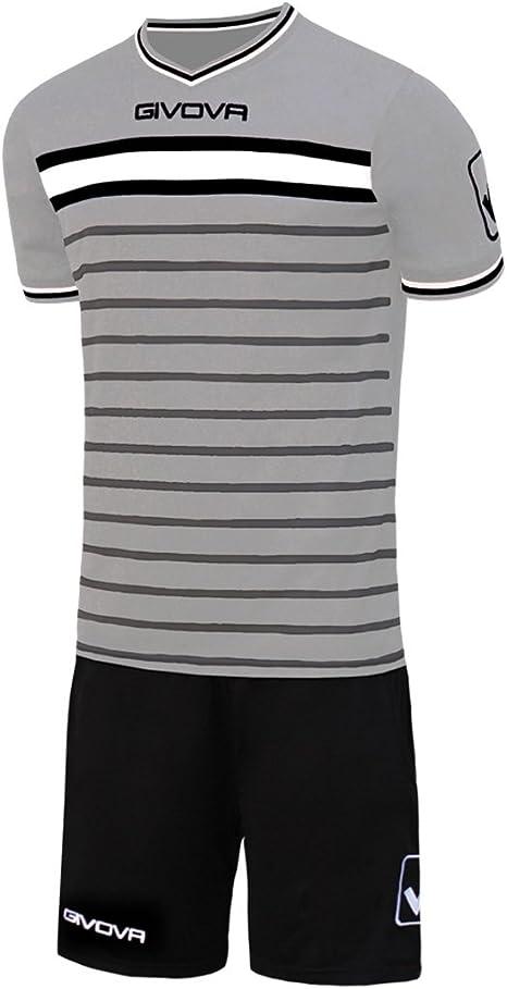 Givova, kit skill, gris claro/negro, L